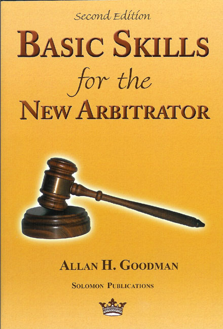 the process of selecting the arbitrator Law firms, therefore, treat the selection of an arbitrator seriously and this   candidate's familiarity with the arbitration process and whether he or.
